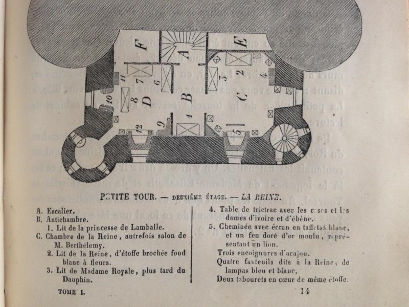La famille royale à la prison du Temple : plans et aménagements - Page 2 030_211
