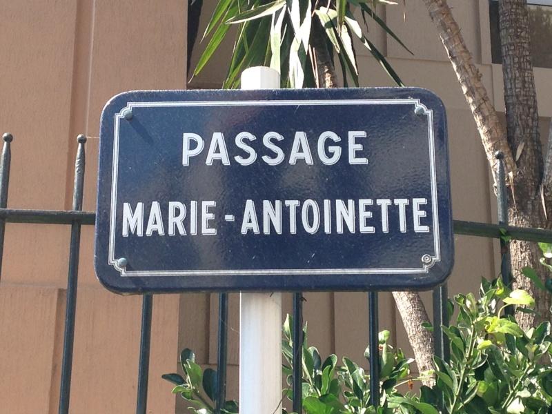 Des rues qui portent le nom de Marie Antoinette 05610