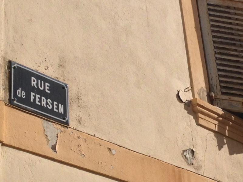 Des rues qui portent le nom de Marie Antoinette 06910