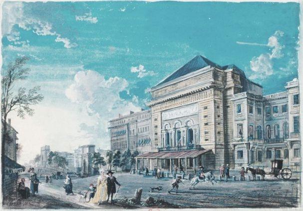 8 juin 1781 : Incendie de l'Opéra 19511