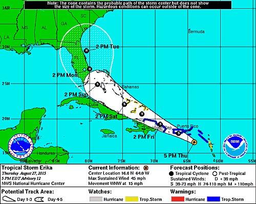 *BLOG* Tropical Storm Erika - Page 4 11954611