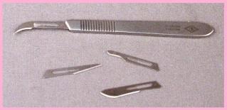 Exemples d'outils utilisés. Scalpe10