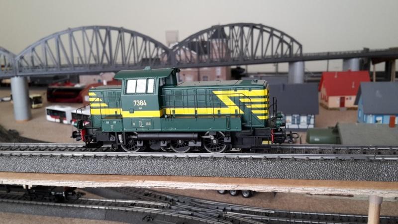 nouveau diesel Piko 96441 (SNCB 73) 738410