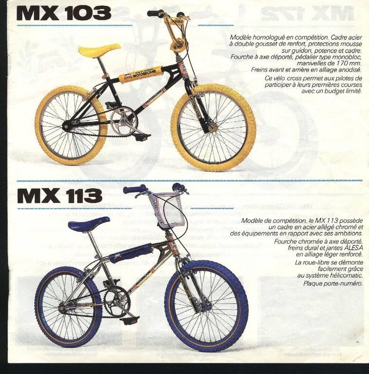 Bicross motobecane mx 103 / 1983 Motobe10
