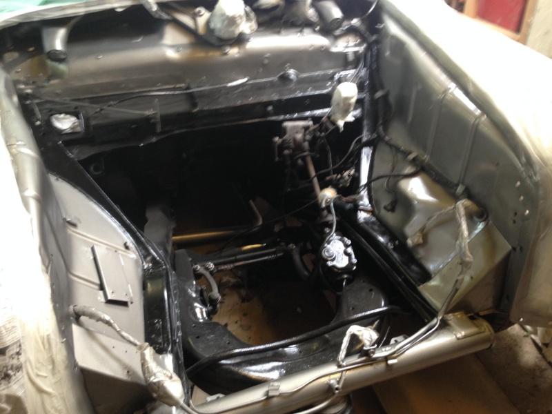 Début de restauration sur Mercedes 190b de 1959 310