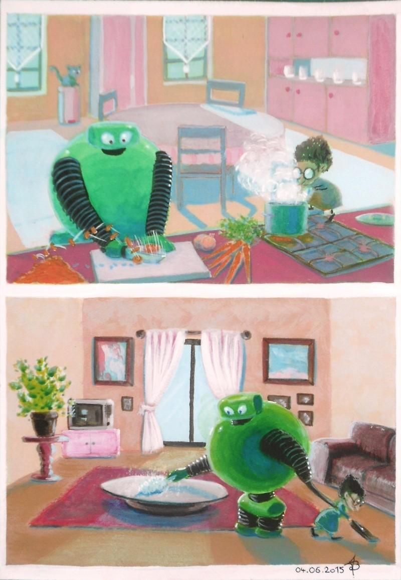 Duo robot/mamie  Dscn4110