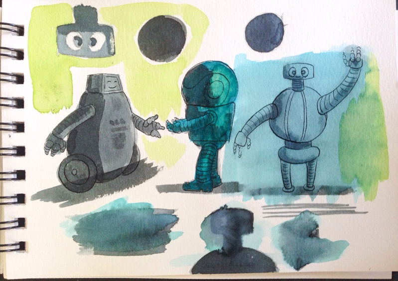 Duo robot/mamie  Image17