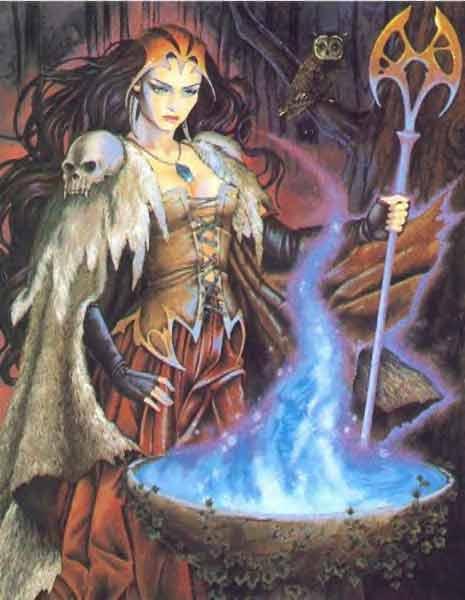 De Gandalf à Qadehar en passant par tout leurs compagnons. Les Praticiens des Arts Occultes. Sorcie12