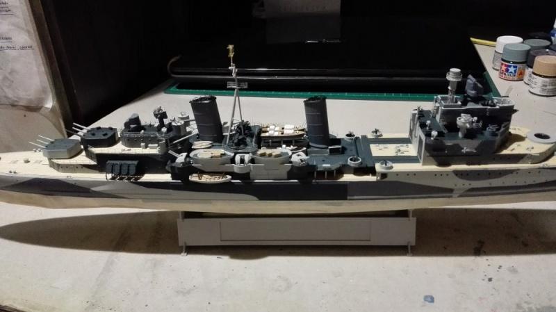 HMS Belfast 1942 Light Cruiser de Trumpeter a 1/350 Ref. 05334 Img_2026