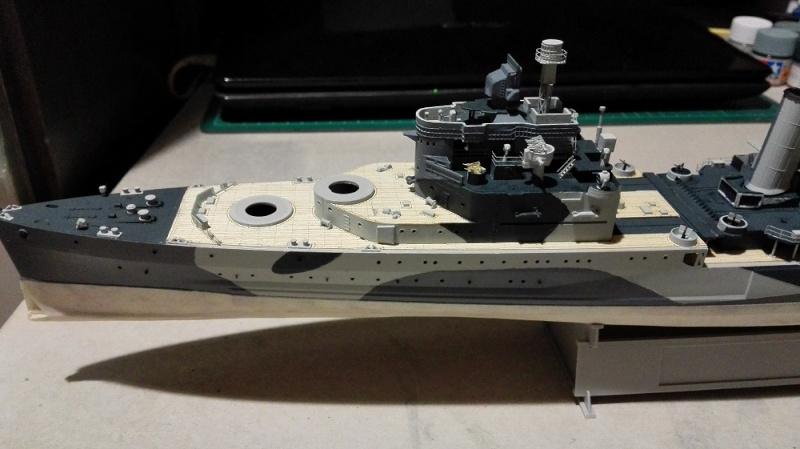 HMS Belfast 1942 Light Cruiser de Trumpeter a 1/350 Ref. 05334 Img_2027
