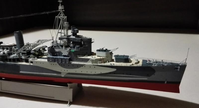 HMS Belfast 1942 Light Cruiser de Trumpeter a 1/350  Img_2040