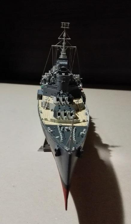 HMS Belfast 1942 Light Cruiser de Trumpeter a 1/350  Img_2043