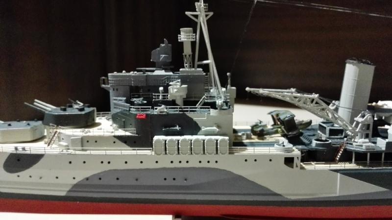 HMS Belfast 1942 Light Cruiser de Trumpeter a 1/350  Img_2045