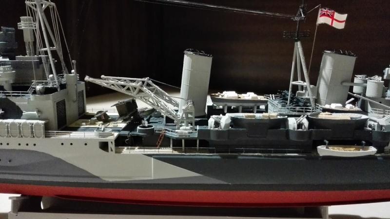 HMS Belfast 1942 Light Cruiser de Trumpeter a 1/350  Img_2046