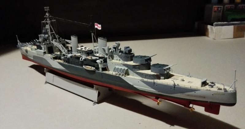 HMS Belfast 1942 Light Cruiser de Trumpeter a 1/350  Img_2049