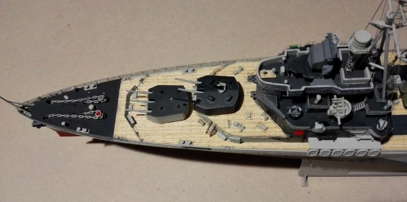 HMS Belfast 1942 Light Cruiser de Trumpeter a 1/350  Img_2050
