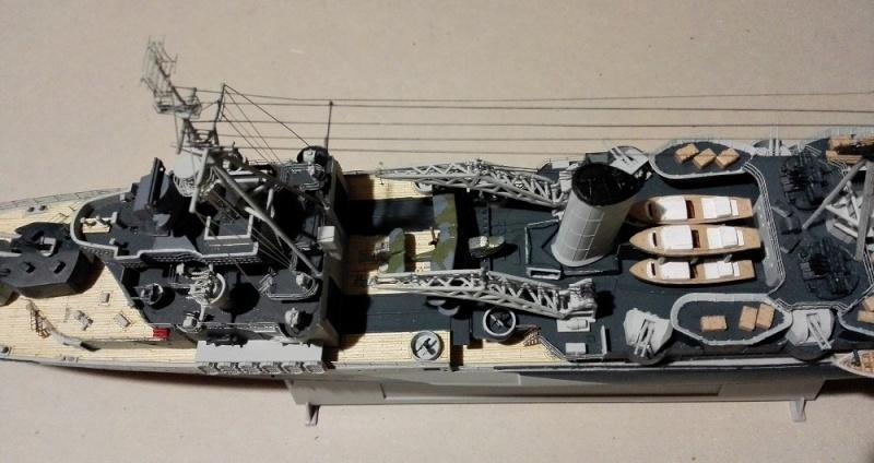HMS Belfast 1942 Light Cruiser de Trumpeter a 1/350  Img_2051