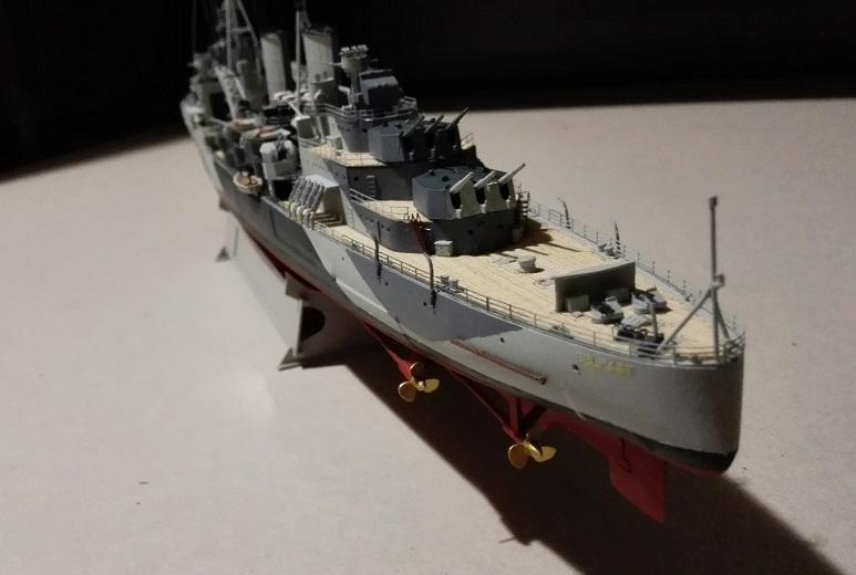 HMS Belfast 1942 Light Cruiser de Trumpeter a 1/350  Img_2055