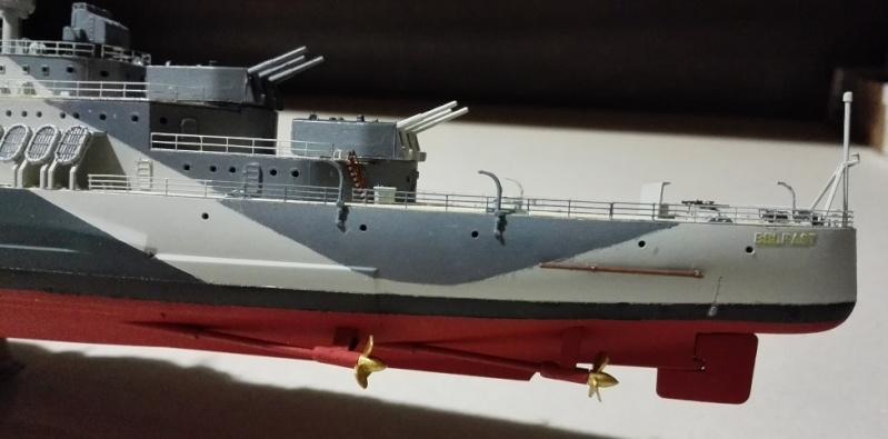 HMS Belfast 1942 Light Cruiser de Trumpeter a 1/350  Img_2058