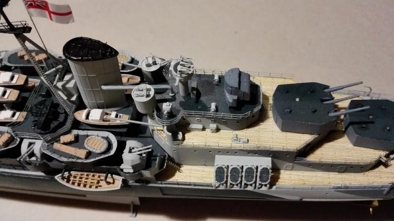 HMS Belfast 1942 Light Cruiser de Trumpeter a 1/350  Img_2059