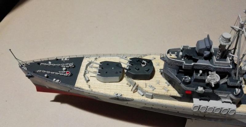 HMS Belfast 1942 Light Cruiser de Trumpeter a 1/350  Img_2063