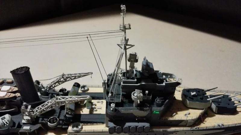 HMS Belfast 1942 Light Cruiser de Trumpeter a 1/350  Img_2066
