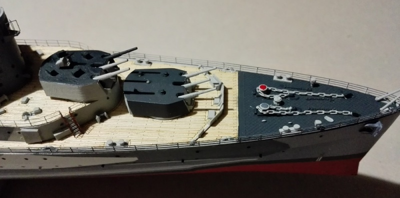 HMS Belfast 1942 Light Cruiser de Trumpeter a 1/350  Img_2070