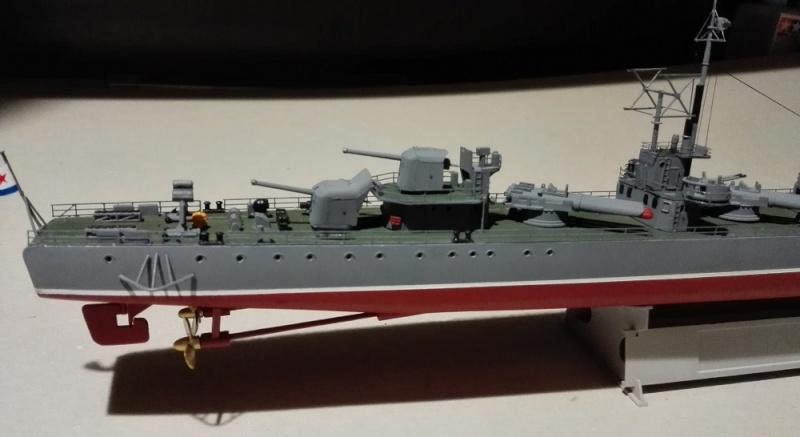 Destroyer Former Soviet Courageous a 1/200 de Trumpeter  Img_2073