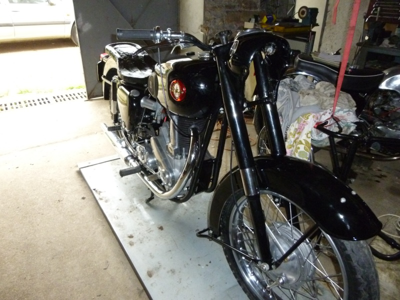 remontage Bsa b33 1957 P1000710
