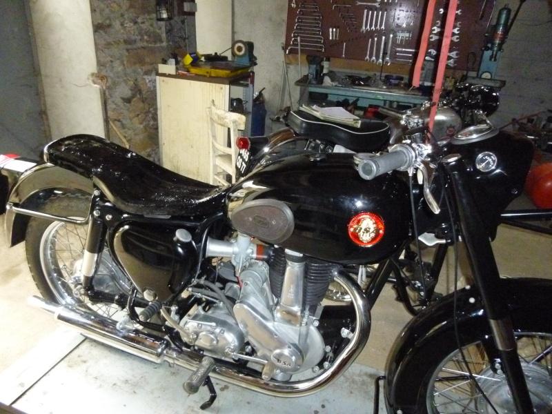 remontage Bsa b33 1957 P1000711