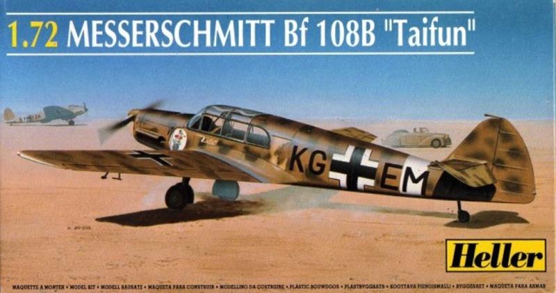 """Messerschmitt Bf108B """"Taifun"""" – Heller 1/72 13172910"""