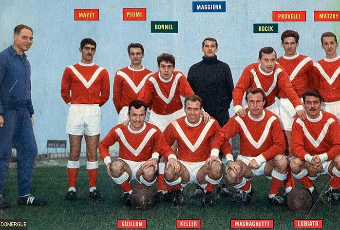 PHOTOS DE JOUEURS DE LEGENDE DU VAFC 1962-610