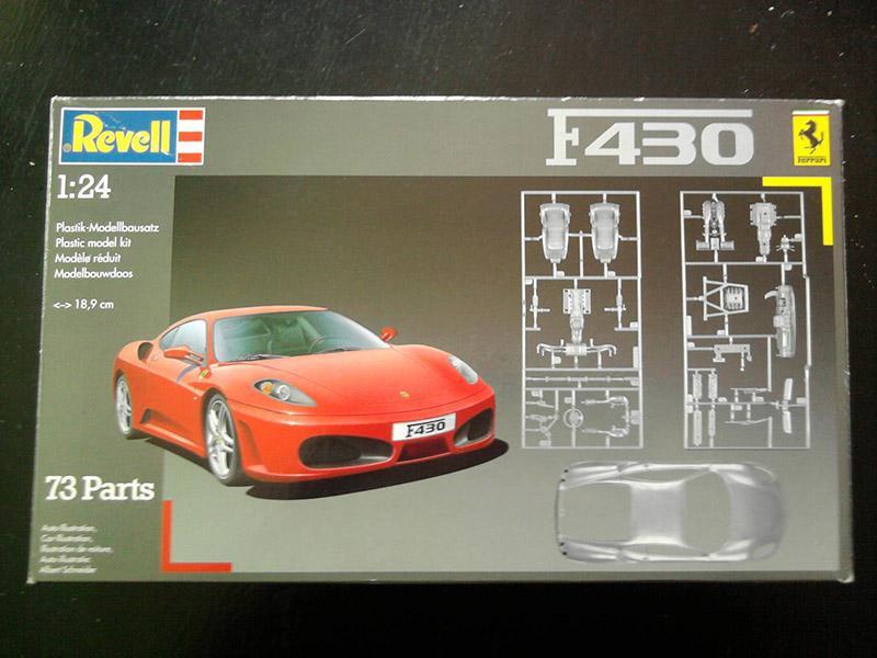 Revell Ferrari F-430 1:24 01_12