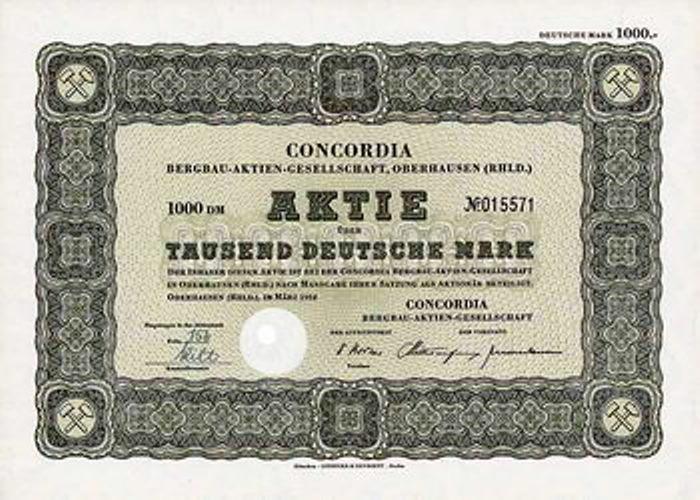 Concordia Bergbau AG Concor11
