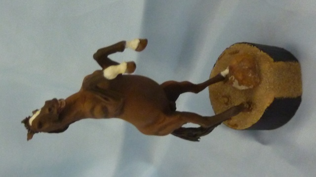 Peinture cheval, 1er essai Cheval11