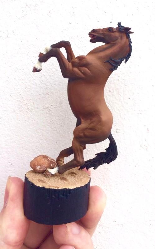 Peinture cheval, 1er essai Cheval13