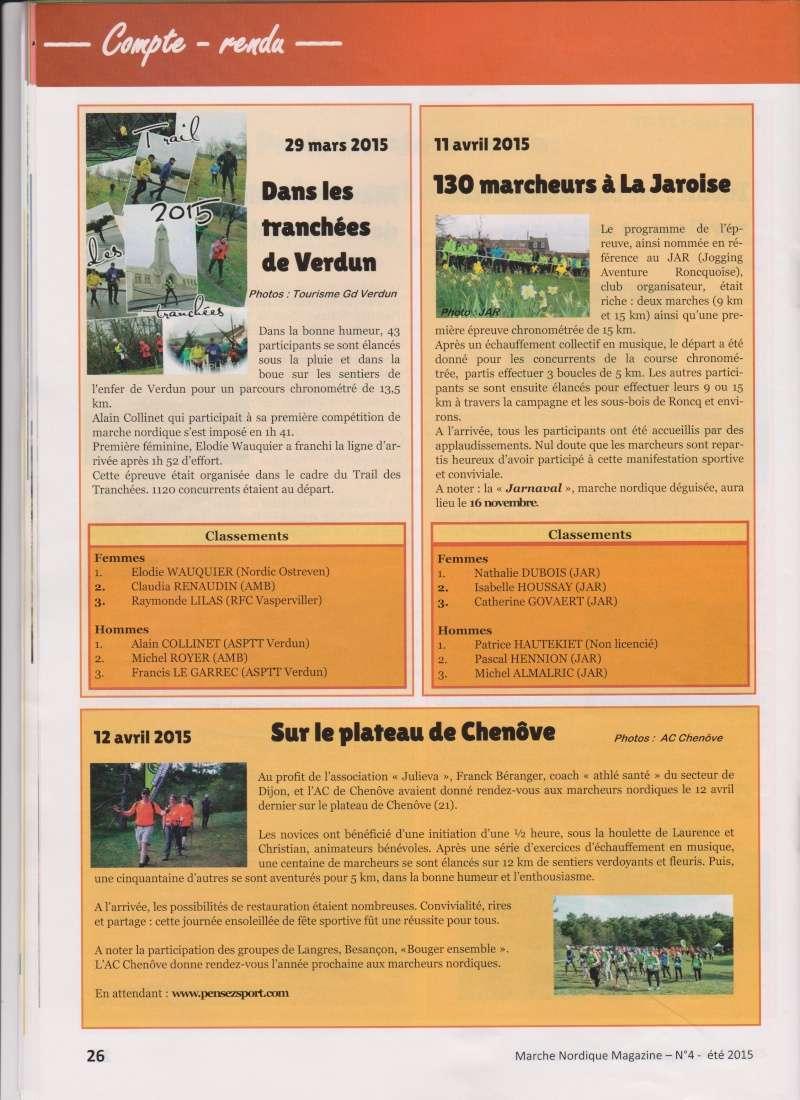 Compte rendu  articles de presse    Magazine de marche nordique News_c11