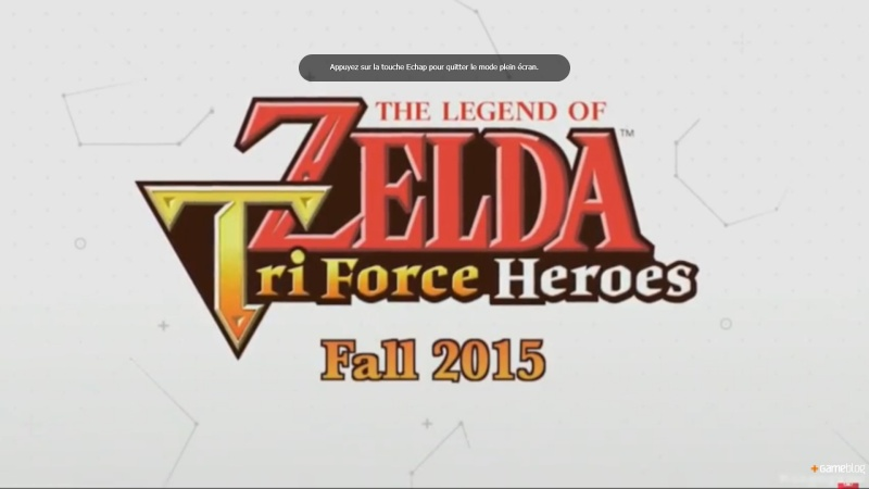 The Legend of Zelda: Triforce Heroes Zelda110