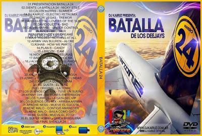 Batalla de Los Djs Vol 24 Dvd Completo Esprim10