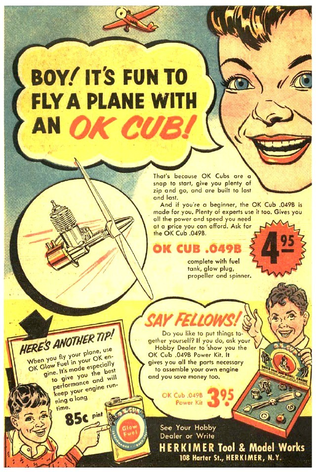 From the good old days  May 1954 Flying Models Fm_may10
