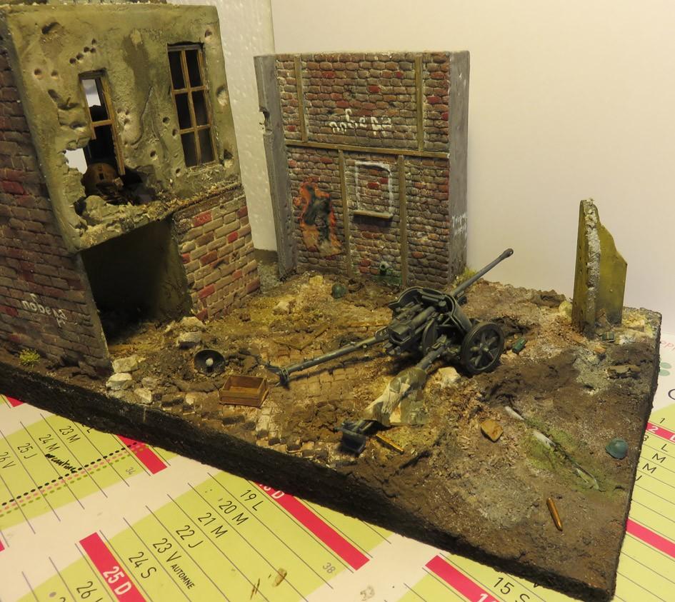 Mur d'usine _ Stalingrad  Septembre 42 _ Victoire __1/35 - Page 3 15072712