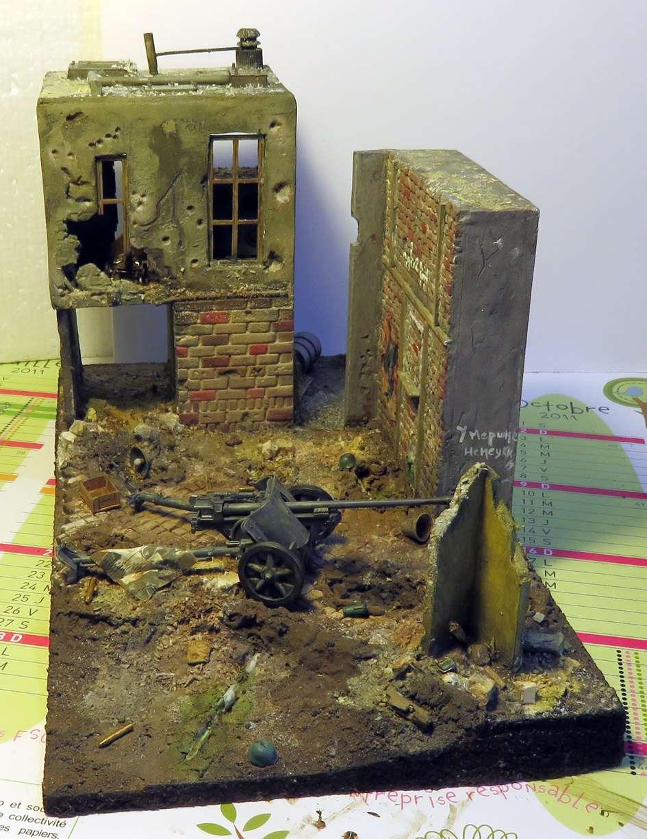 Mur d'usine _ Stalingrad  Septembre 42 _ Victoire __1/35 - Page 3 15072715