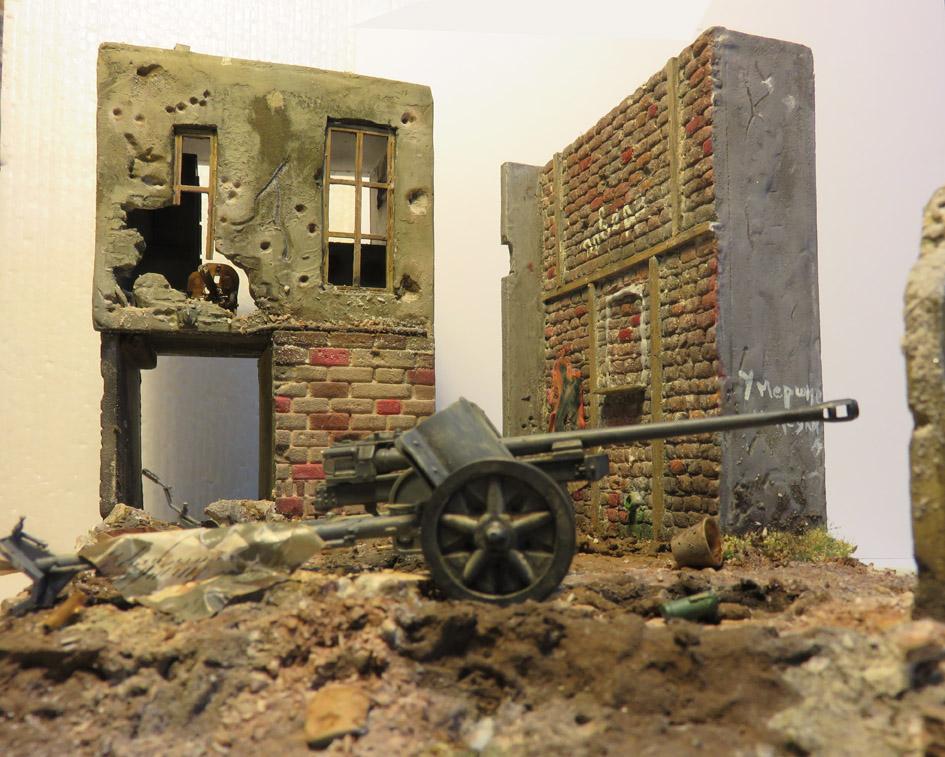 Mur d'usine _ Stalingrad  Septembre 42 _ Victoire __1/35 - Page 3 15072717