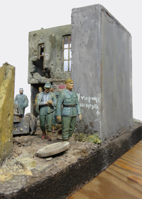 Mur d'usine _ Stalingrad  Septembre 42 _ Victoire __1/35 - Page 4 15080415