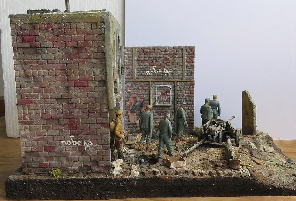 Mur d'usine _ Stalingrad  Septembre 42 _ Victoire __1/35 - Page 4 15080417