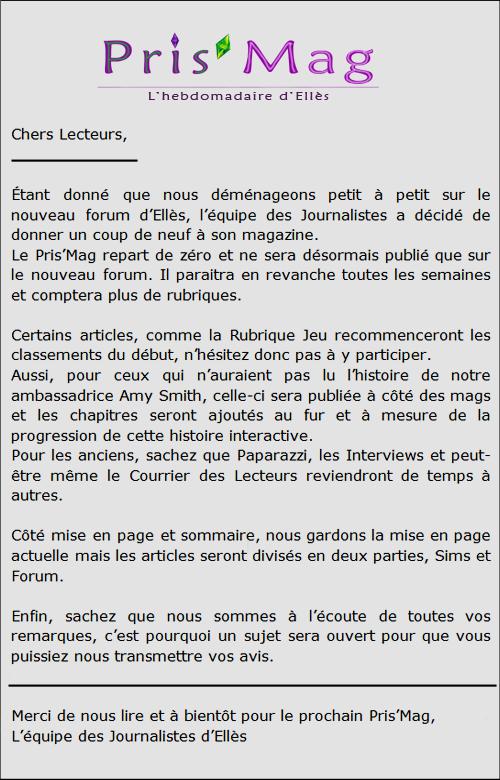 Annonce de la Rédaction Annonc14