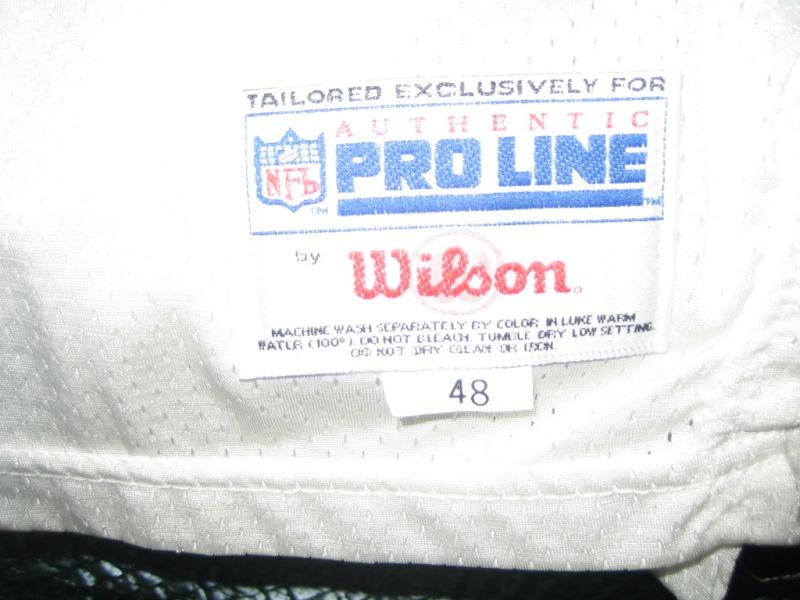 Steve Young & Jerry Rice Wilson & Wilson Pro line Jerseys 00210