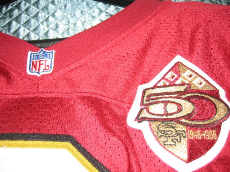 Steve Young & Jerry Rice Wilson & Wilson Pro line Jerseys 00610