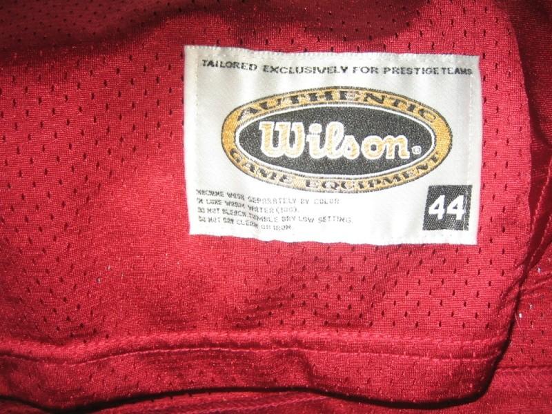 Steve Young & Jerry Rice Wilson & Wilson Pro line Jerseys 00710