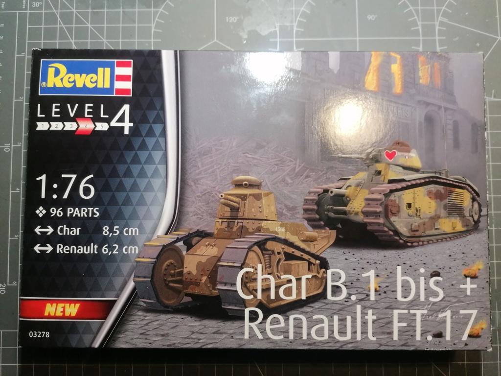 [REVELL] Char B1.Bis et RENAULT FT-17 1/76ème Réf 03278 Img_2020
